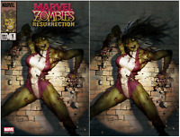 MARVEL ZOMBIES RESURRECTION #1 (OF 4) RYAN BROWN COVER A AND B SET