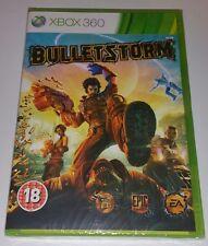 BULLETSTORM Xbox 360 New Sealed UK PAL Version Game Microsoft X360 Bullet Storm