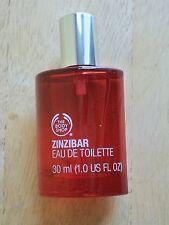 BODY SHOP ZINZIBAR EAU DE TOILETTE/EDT SPRAY, 1.0 FL. OZ, RARE,DISCONTINUED, NEW
