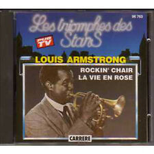 ★☆★ CD Louis ArmstrongLes triomphes des stars  France Only Compilation