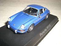 NOREV PORSCHE 911 S  2,4l  1973 blaumet.  1:43  750055