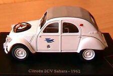 CITROEN 2CV SAHARA LA POSTE PTT 1962 1/43 DEUDEUCHE BLANCHE DESERT ATLAS DEUCHE