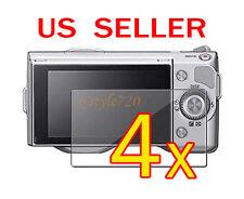 4x Sony Camera NEX-3 NEX-5 NEX-5N NEX-7 NEX-7N LCD Screen Protector Cover Film