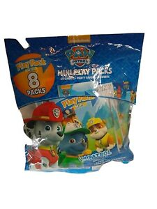 Paw Patrol mini  Play Packs 8 in package  Great Stocking stuffers  New