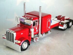 DCP RED  PETERBILT 389 63 SLEEPER CAB 1/64 60-0775 C