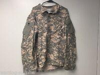 USGI ACU ARMY Digital Fatigue Combat Coat PERIMETER INSECT GUARD Large LONG