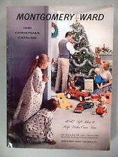 Montgomery Ward CATALOG - Christmas, 1961 ~~ toy, toys, Xmas, Wards