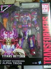 TRANSFORMERS TITANS RETURN AUTOBOT SOVEREIGN & ALPHA TRION B8352