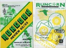 Altrincham Football Non-League Fixture Programmes (1980s)