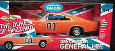 1969 Dodge Charger General Lee Dukes of Hazzard 1:18  1:64 Two car set 32878