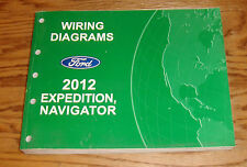 Original 2012 Ford Expedition Lincoln Navigator Wiring Diagrams Manual 12
