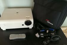 Optoma H57 DLP SVGA Home Theater Projector w/ Remote & Case 1100 Lumens
