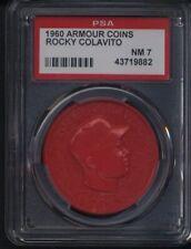1960 Armour Coins Rocky Colavito Indians PSA 7 *703025