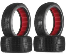 New AKA Racing 1/8 Buggy Rasp Soft Tires w/ Red Inserts (4) F / R 14018SR