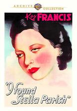 I Found Stella Parish 1935 (DVD) Kay Francis, Ian Hunter, Sybil Jason - New!