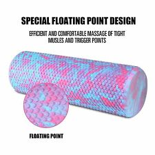 Trigger Point Foam Roller Deep Tissue Massage Fitness Gym Yoga Muscle Therapy P