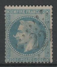 "FRANCE STAMP TIMBRE  N° 29 Bb  "" NAPOLEON 20c VARIETE A LA CORNE"" OBLITERE  N553"