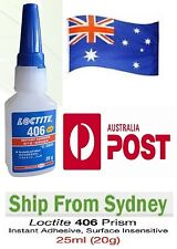 "Loctite 406 20g / 25ml Super Glue Instant Industrial Adhesive ""SYDNEY STOCK"""