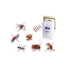 New Ultrasonic Electronic Rat Cockroach Spider Pest Bug Mosquito Repeller Reject