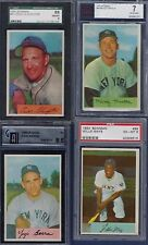 1954 BOWMAN COMPLETE HI GRADE SET - INCLUDING TED WILLIAMS