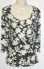 George Scoop Neck Casual Floral Tops & Shirts for Women