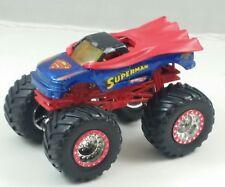 #H# HOT WHEELS SUPERMAN, MONSTER JAM TRUCK 4X4, METAL BASE NICE