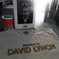 Twin Peaks 'Directed By David Lynch Logo T-Shirt Inspired by Twin Peaks Opening