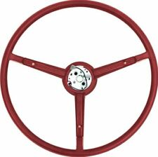 OER A/B-Body Red Pebble Grain Steering Wheel 1970 Dart Duster Charger Valiant