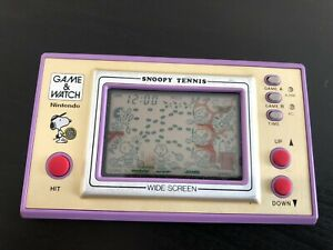 Game&Watch Snoopy Tennis