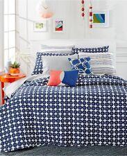 Martha Stewart Whim Flowerbed Cotton STANDARD Sham BLUE Bedding Retail $50 D018