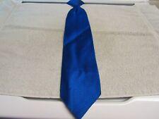 Vtg. Wembley Blue Textured Clip On Neck Tie