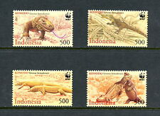 Indonesia 2000  #1911-4  Komodo Dragon  WWF  4v.   MNH  H322