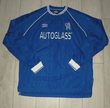 "Chelsea 1999-2001 ""XXL"" Umbro Home Shirt Jersey Trikot Long Sleeve *Mint*"