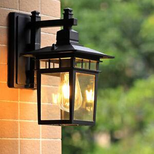 Garden Wall Lights Outdoor Wall Light Home Wall Sconce Kitchen Black Wall Lamp