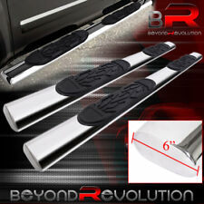 "For 2004-2008 F150 Super Crew Cab Side Step Bar Nerf 6"" Chrome Board"