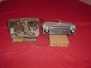 1955 56 Chevrolet Wonderbar Signal Seeking Radio Bel Air 210 150 Works!!!!