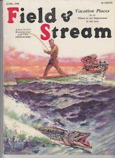 Vintage JUNE 1930 FIELD & STREAM magazine hunting fishing  Henry C. Murphy cover