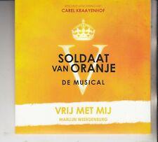SOLDAAT VAN ORANJE MUSICAL CD SINGLE Vrij Met Mij Marijn Weerdenburg Kraayenhof