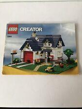 Lego Creator Set 5891 Instruction Manual Only