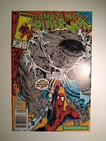 Amazing Spider-Man #328 NM+ 9.6!! INCREDIBLE HULK vs SPIDEY by MCFARLANE! 1990