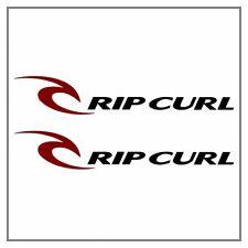2 Autocollants Stickers Decals Rip Curl (20x3,5cm) - Ripcurl