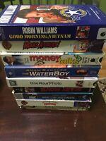 Lot 9 VHS 80-90's Classics