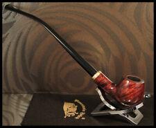 Mr. Brog GENUINE WOODEN SMOKING PIPE CHURCHWARDEN 114 Brown Constance Briar +Box