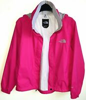 THE NORTH FACE LADIES HYVENT PINK JACKET SIZE XS UK 8-10 HARDLY WORN