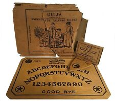 Antique Ouija Board Occult Spiritualism William Fuld Talking Eqyptian Luck 1919