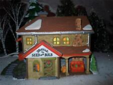 "Dept 56 .New EnglandVillage series "" Bluebird seed and Bulb""-P500"