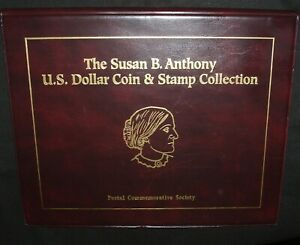 Susan B Anthony P-D-S Coin & Stamp Collection - 11 Coins - Free Shipping!