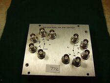 Hp Hewlett Packard 94130A Dual 1x4 Vhf Switch module -Used.