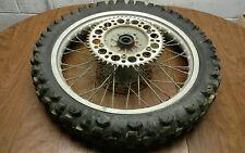 1993 93 yamaha yz125 yz 125 rear wheel rim hub  (NICE)
