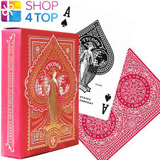 TYCOON RED THEORY 11 PLAYING CARDS DECK GOLD MAGIC TRICKS SEALED USA NEW